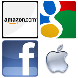 La teoría de los ecosistemas: la red dominada por Google, Amazon, Facebook y Apple