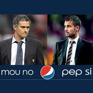 """Mou no, Pep si"": la polémica campaña de Pepsi Argentina"