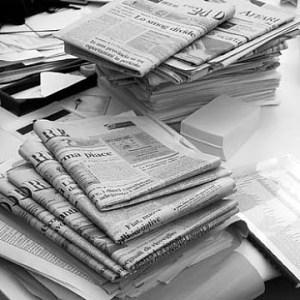 La prensa escrita vuelve a empeorar sus ventas en abril, según la OJD