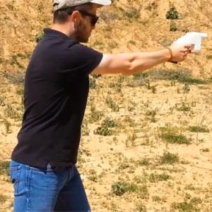 """La primera pistola fabricada con una impresora 3D hace """"bang"""" entre críticas"""