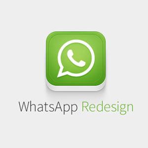 """WhatsApp se viste de gala con una propuesta de diseño muy """"favorecedora"""""""