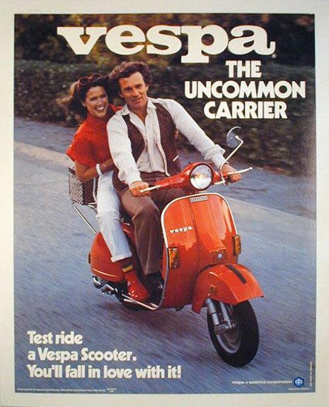10 carteles vintage para dar un paseo por la mejor publicidad de Vespa