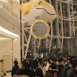 """En Seúl los supermercados """"vuelan"""" y ofrecen Wi-Fi gratis a sus clientes"""