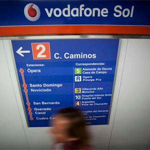 Vodafone España y Metro de Madrid dotan de cobertura móvil a toda la línea 2 de Vodafone