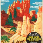50 anuncios vintage para hacer un viaje exprés a lo largo y ancho del planeta