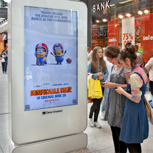 La publicidad exterior es un 200% más efectiva cuando utiliza los datos móviles como