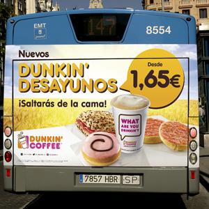 Autobus Dunkin' Coffee