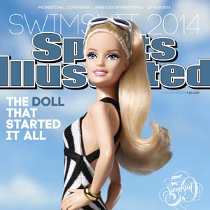 APphoto_CORRECTION Barbie-Sports Illustrated