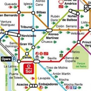 carrefour metro madrid
