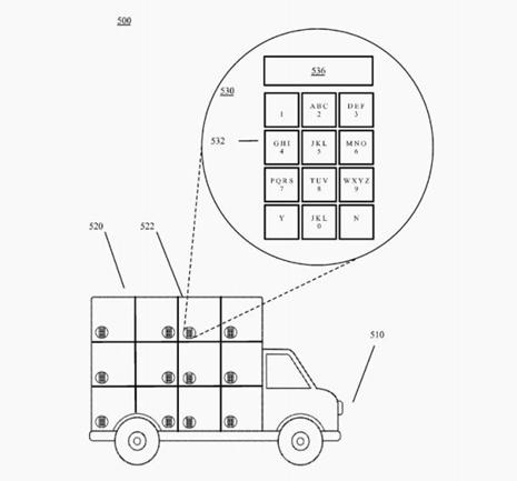patente plataforma autónoma entrega Google