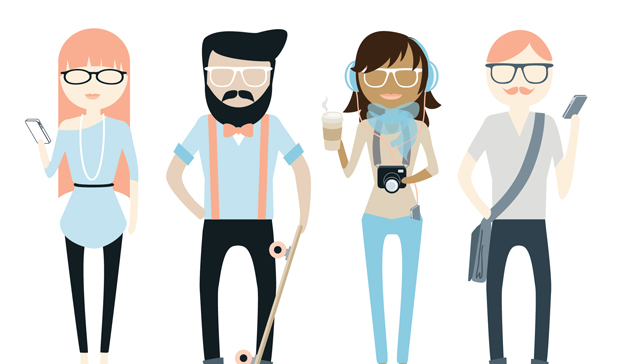 Hipsters & People