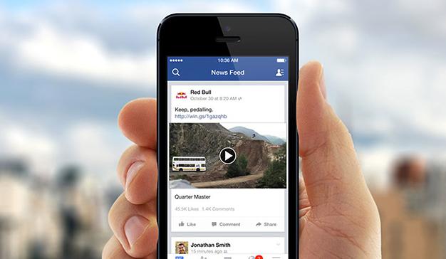 Facebook prueba un nuevo formato de News Feed
