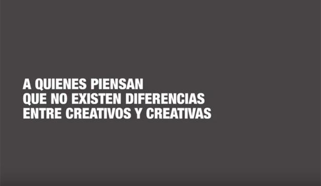 """""""Carta de una creativa"""", la reivindicativa campaña de Más Mujeres Creativas y Shackleton"""