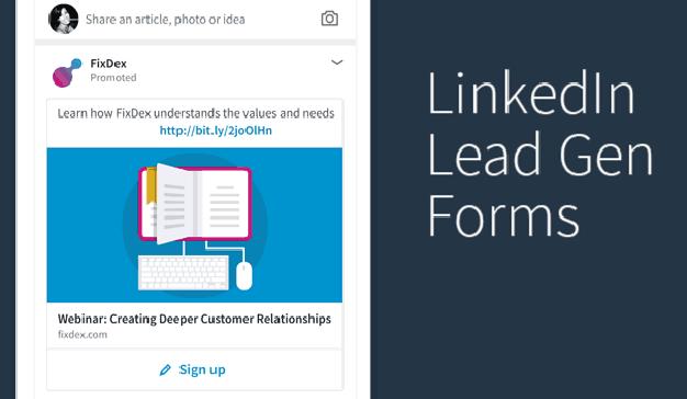 LinkedIn presenta LinkedIn Lead Gen Forms, la forma más fácil de conseguir leads de calidad