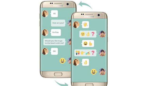 Samsung crea una app para facilitar la comunicación a las personas con problemas de lenguaje