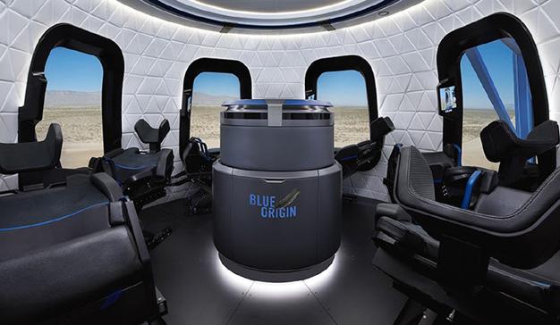 Jeff Bezos está vendiendo sus acciones de Amazon para llevar a turistas al espacio
