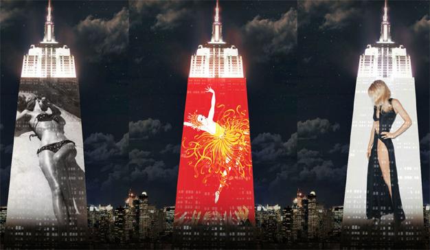 """Harper's Bazaar celebra su 150º cumpleaños """"secuestrando"""" el Empire State Building"""