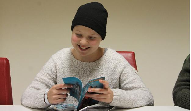 Un reto creativo con 17 adolescentes con cáncer