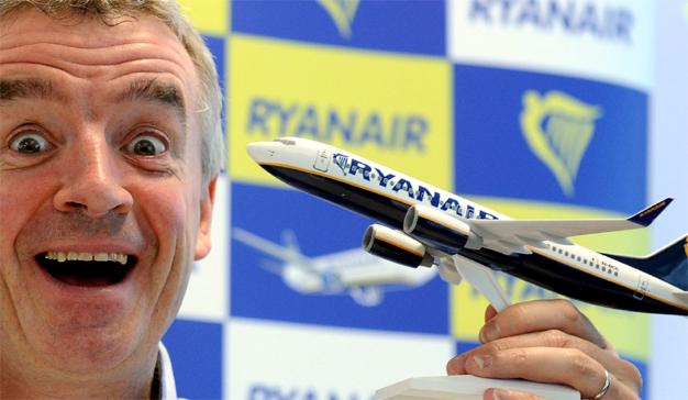 En menos que canta un gallo los billetes de avión serán gratis (o eso dice el CEO de Ryanair)