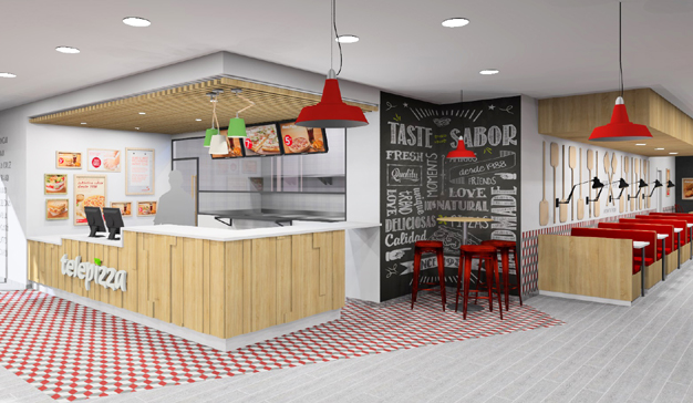 Telepizza abre su primer local en Francia, en la ciudad de Perpiñán