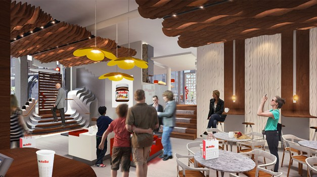 Golosos del mundo, preparados, listos, ¡ya! Nutella abre su primer restaurante en Chicago