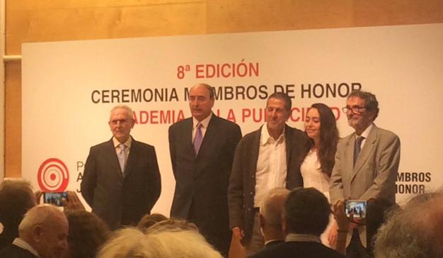 Estos son los cuatro nuevos miembros de Honor de la Academia de la Publicidad