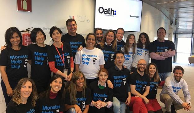 AOL España cambia la oficina por un día para colaborar con la Fundación Síndrome de Down Madrid