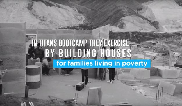 "McCann Colombia crea ""Titans Boot Camp"" para la cadena de gimnasios Step Ahead"