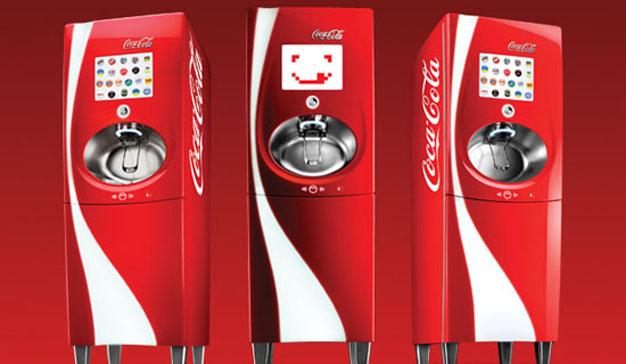 Llega a España la máquina de Coca-Cola con más de 100 sabores a elegir