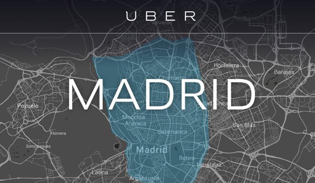 """Uber aviva el fuego en la """"guerra del taxi"""" con viajes a 5 euros hasta el 2 de junio"""