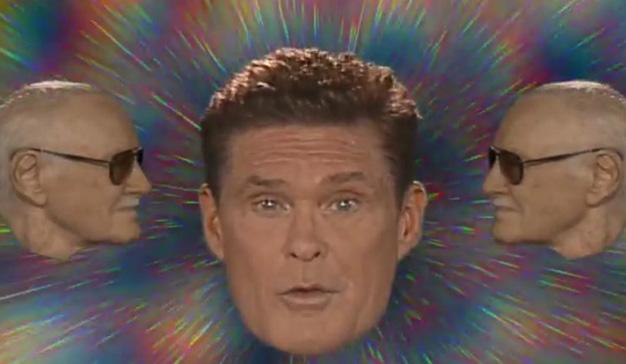 """David Hasselhoff canta y baila (sin miedo al ridículo) en la nueva campaña de """"Guardianes de la Galaxia 2"""""""