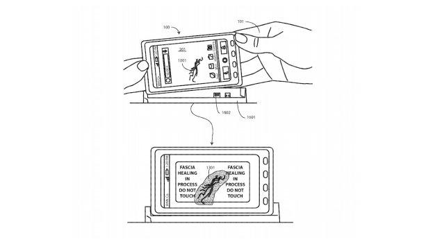 Motorola patenta una pantalla autorreparable