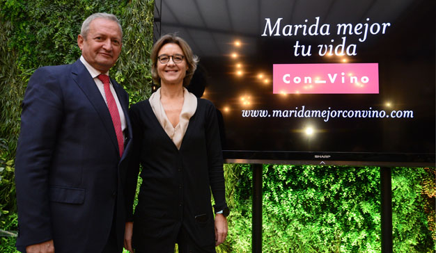 """Marida mejor tu vida con vino"": se presenta la primera campaña del vino español"