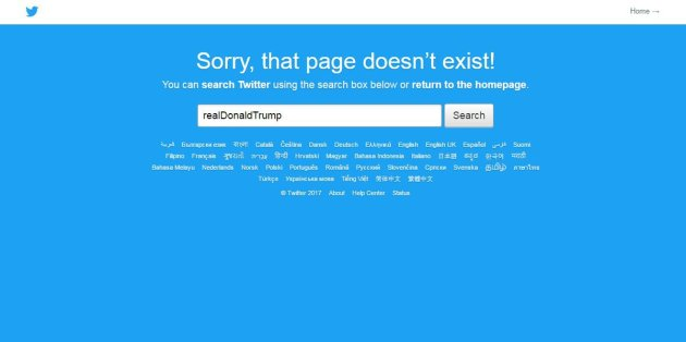 Un empleado de Twitter cierra el pico a Donald Trump durante 11 minutos en la red social