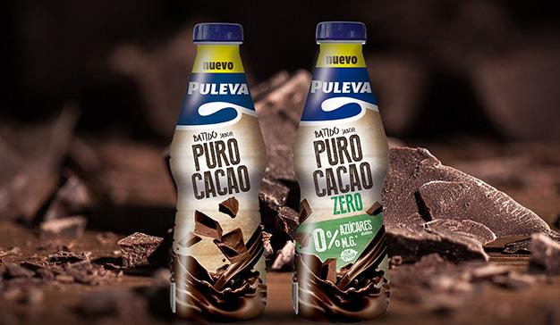 Puleva presenta su nueva gama de Batidos Puro Cacao y Puro Cacao Zero