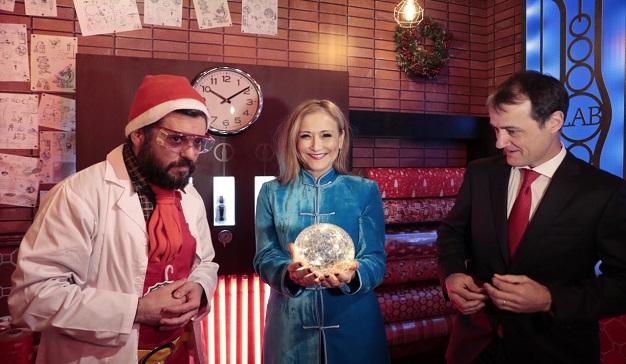 Se inaugura el Pueblo y la Casa de Navidad de Coca-Cola en la Puerta del Sol de Madrid