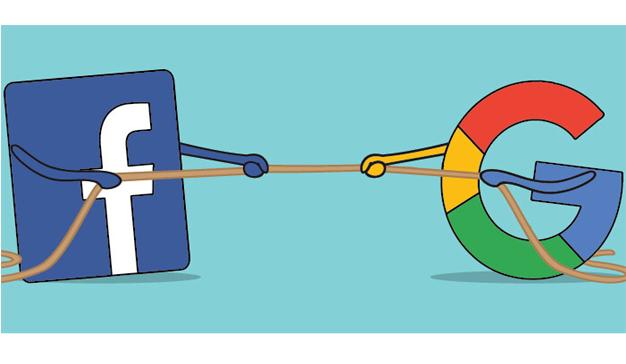 El dominio de Google y Facebook en el mercado de la publicidad digital en dos gráficos