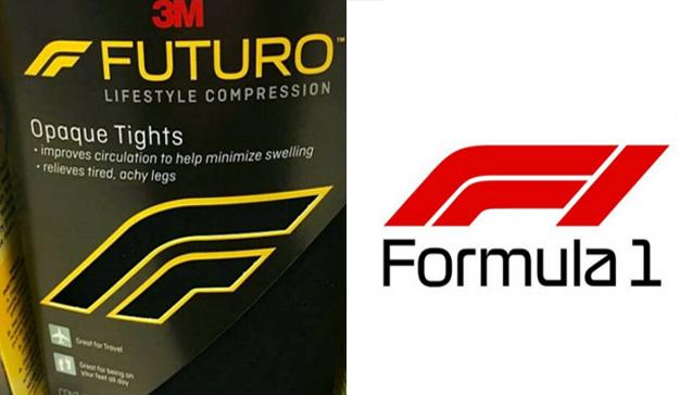 El nuevo logo de la Fórmula 1 podría provocar un conflicto con 3M