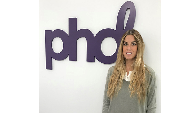 María Crespo se incorpora a PHD como Business Development Manager