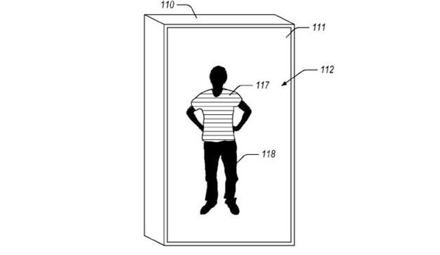 Amazon patenta su propio espejo inteligente