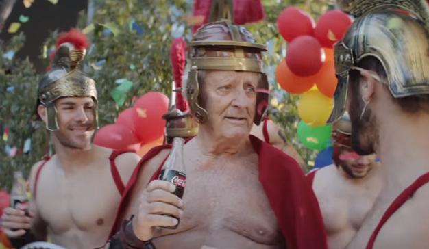 Coca-Cola Zero pone las pilas (de la vida) a un anciano en este marchoso spot