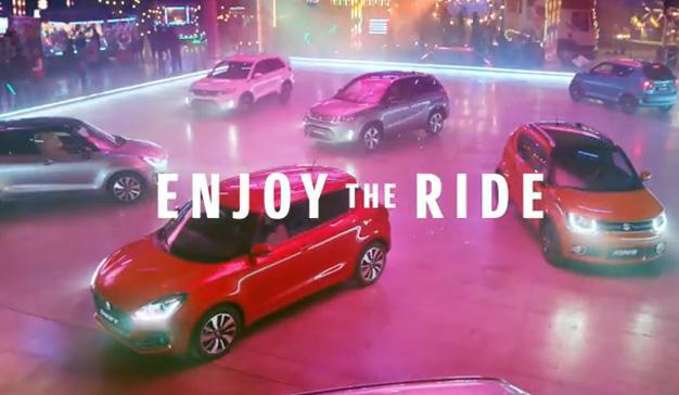 Suzuki utiliza sus vehículos como coches de choque en su nuevo spot