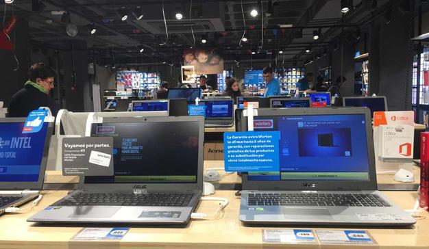 Las ventas globales de ordenadores cayeron en 2017 por sexto año consecutivo
