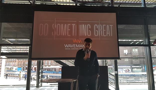 """""""En Wavemaker queremos tener la vista puesta en el futuro pero la cabeza en el presente"""", H. Llebrés, CEO de Wavemaker"""