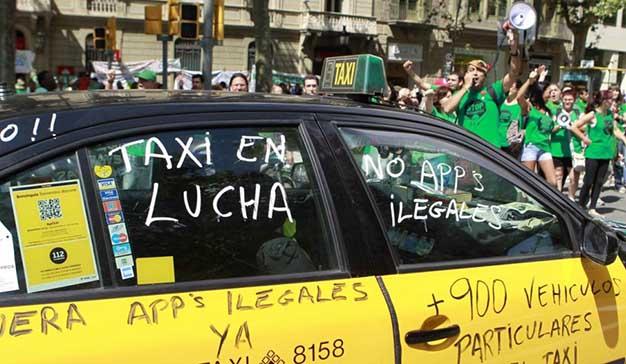 Uber y Cabify verán limitada su actividad en Barcelona por la nueva regulación