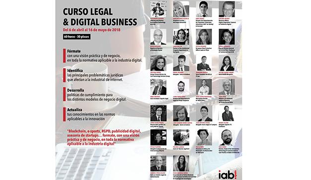 IAB Spain presenta la IV edición del Curso Superior Legal & Digital Business