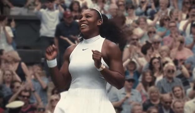 Nike homenajea a Serena Williams en su spot para los Oscars