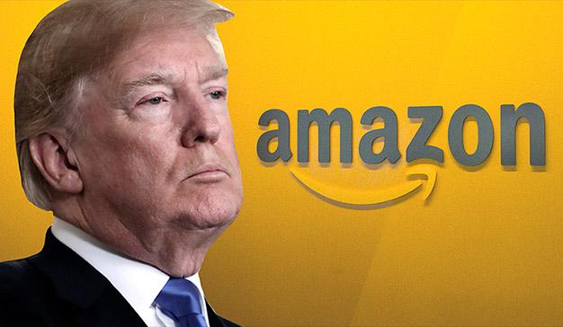 Donald Trump acusa a Amazon de no pagar suficientes impuestos