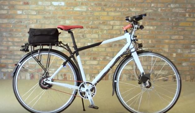 Toyota apuesta por la seguridad vial de los ciclistas creando una bicicleta tecnológica
