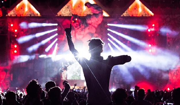 Festivales de música: experiencias y efectos especiales de la mano de Fluge Audiovisuales